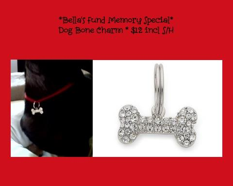 photo of Bella's charm for dogs