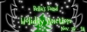 graphic for Bella's Fund Holiday Auction