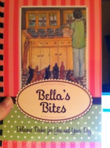 photo of the cover of Bella's Bites Cook Book